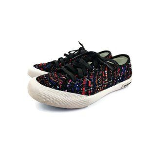 SeaVees Black Monterey Wintertide Sneaker Size 5.5